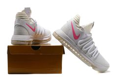 promo code 0e462 3fb5c Nike KD 10 Authentic Fluorescent White Kevin Durant Shoes, Popular Shoes,  Workout Shoes,