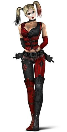 Character: Harley Quinn. Version: Arkham City. From: Injustice: Gods Among Us Videogame.