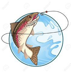 Image result for trout jumping out of water