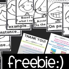 FREE! Evidence Based Terms: ELA POSTERS
