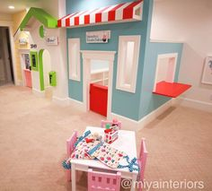 """109 Likes, 23 Comments - Miya Interiors & Design (@miyainteriors) on Instagram: """"These cute playhouses are open for business!"""""""