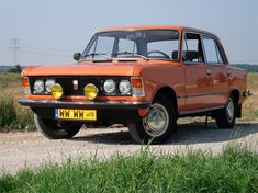 Polish Fiat 1980 – Polish Fiat – Wikipedia, the free encyclopedia - Vehicles - Cars 2019 Kei Car, Ford Anglia, Car Polish, Fiat Abarth, Cool Jeeps, Mini Trucks, Jeep Truck, Small Cars, Fiat 500