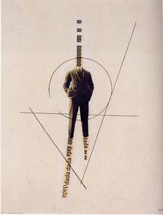 George Grosz & John Heartfield - The Worlddada Richard Hulsenbeck (c. 1919) #dada #poster