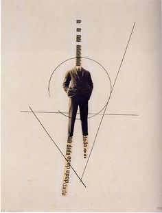George Grosz & John Heartfield - The Worlddada Richard Hulsenbeck (c. 1919) #dada #poster