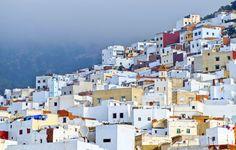 Tétouan, an den nördlichen Ausläufern des Rif-Gebirges in Marokko