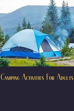 This is an article about what to do while camping with adults Camping Games, Camping Activities, Fishing Guide, Best Fishing, Outdoor Survival, Outdoor Gear, Campfire Songs, Activities For Adults, My Buddy