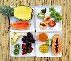 Our favorite #summer eats! #fruits #food