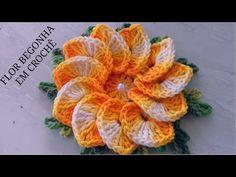 How to crochet very easy bath pouf - YouTube