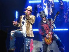 GUNS N' ROSES 2013  AXL ROSE - Dj ASHBA