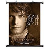 Sam Heughan / Outlander TV Show Wall Scroll Poster (16x24) Inches