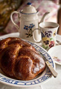 Pulla, pan dulce finlandés | Recetas con fotos paso a paso El invitado de invierno