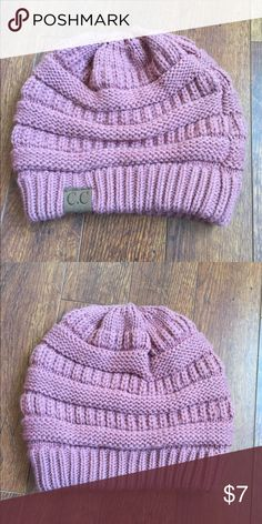 Pink Beanie Pink beanie. Bought it at a boutique downtown not sure where it's originally from Urban Outfitters Accessories Hats