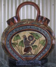 One of the featured pieces in the Artes de Mexico issue on Tlaquepaque Pottery published in 2007 with the help of Los Amigos del Arte Popular.  #Mexico #Mexican #Tlaquepaque #pottery - see www.mainlymexican.com