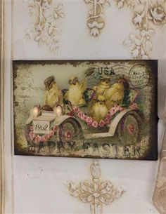 Peeps On Tour Lighted Canvas from Victorian Trading Co.