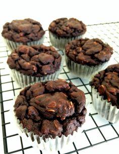 Healthy Banana Protein Muffins (Low fat, High protein, Gluten Free)