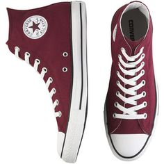 burgundy converse high tops - Google Search