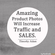 Daily Etsy Tip - Amazing Product Photos Will Increase Traffic and Sales : http://www.handmadeology.com/daily-etsy-tip-amazing-product-photos-will-increase-traffic-and-sales/
