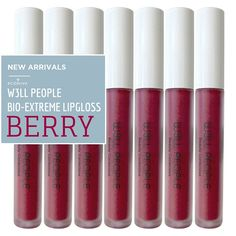 W3LL Peoples NEW Berry Bio Extreme Lipgloss