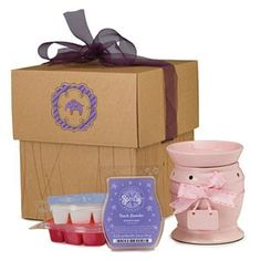 Great.gift for that expectant mother. Bundle of Joy Gift (Girl) Pink-a-Boo Scentsy Warmer, Newborn Nursery, French Lavender, and Sweet Pea & Vanilla Scentsy Bars. #GiftBundle #BabyGirl #PinkaBoo #Warmer #NewBornNursery #FrenchLavender #SweetPea&Vanilla #Scentsy #ScentsyBar #Gift