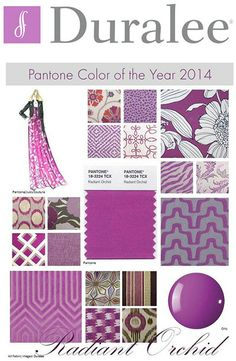 2014 Pantone Color of the Year! I can never get enough of purples! Orchid Color, Types Of Colours, New England Homes, Trends, Beading Projects, Shades Of Purple, Magenta, House And Home Magazine, Purple Rain