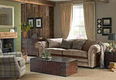 Inspirational Room Designs | DFS. OOhh, cosy scottish country feel !!! 'Loch Leven' sofa