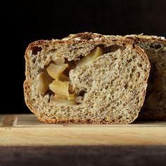 Vegan Richa: Apple Pie Swirl Multigrain Bread Loaf. Vegan recipe