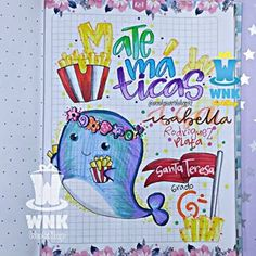W N K workshop🎩 (@wonkasworkshop92) • Fotos y videos de Instagram School Notes, School Notebooks, Doodle Drawings, Stories For Kids, Brush Pen, Aesthetic Girl, Art School, School Supplies, Doodles