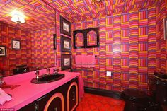 That '70s home! Kitsch house that hasn't changed in 47 years up for sale with all original furniture an 8-track player and a toaster that pops out of the wall