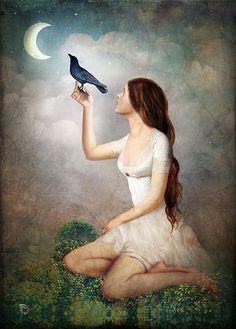 "Christian Schloe, ""The Moon Asked the Crow"""