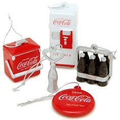 Ornaments for my Coca~Cola Christmas Tree