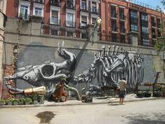 street art, la Tabacalera, Madrid