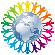 People Joined around the Globe. This image is a scalable vector illustration of peoples and can be scaled to any size without loss of quality. Created: GraphicsFilesIncluded: VectorEPS Layered: Yes MinimumAdobeCSVersion: CS Tags: around Circle Logo Design, Circle Logos, Black Texture Background, Art Background, Lord Buddha Wallpapers, Project Cover Page, Wedding Anniversary Message, Festival Logo, Logo Desing