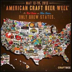 American Craft Beer Week, May 12-18, 2014. For the 9th consecutive year, the Brewers Association has declared American Craft Beer Week (ACBW) a celebration of U.S. craft brewers.