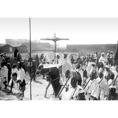 01/10/1913VIAJE DEL SULTÁN DE MARRUECOS. MULEY YUSEF A CABALLO Y RODEADO POR SU ESCOLTA AL ENTRAR EN CASABLANCA: Descarga y compra fotografías históricas en   abcfoto.abc.es
