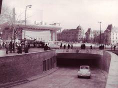 Pasajul rutier de la Teatrul Național (1970)