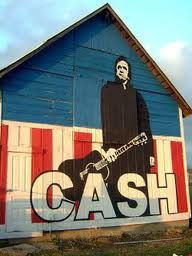 Johnny Cash barn