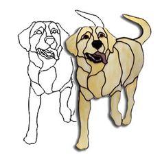 Jasper Labrador Dog Obsession Pattern