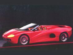1994 Disegno di Bizzarrini BZ 2001