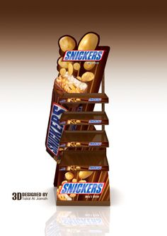 SNICKERS Stand by Talal Al Jarrah, via Behance