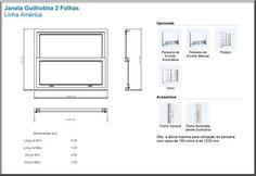 detalhamento janela guilhotina - Pesquisa Google