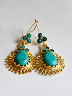 Gorgeous turqouise earrings