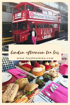 Did you know that you can enjoy afternoon tea on a double decker bus while seeing the sights of London? A great way to spend an afternoon! Like Chocolate, Chocolate Cupcakes, Afternoon Tea London, Finger Sandwiches, London Tours, Cream Tea, Clotted Cream, Smoked Salmon, Family Travel