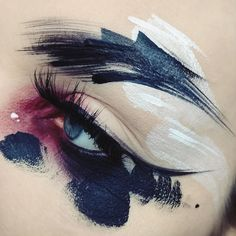 Trendy makeup artist cosmetics make up Makeup Inspo, Makeup Art, Makeup Inspiration, Beauty Makeup, Makeup Ideas, Halloween Disfraces, Aesthetic Makeup, Eye Art, Fantasy Makeup