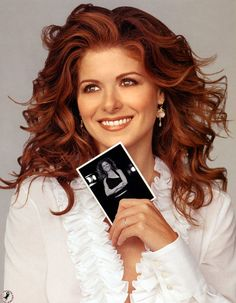 Debra Messing...I miss Will and Grace/••••beautiful redhead, fantastic in SMASH