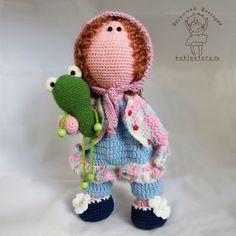 Интерьерная кукла, вязаная кукла, кукла, crochet, doll