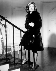 327396fafd21f Anne Bancroft on the set of in The Graduate directed by Mike Nichols