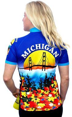Michigan Women's Cycling Jersey