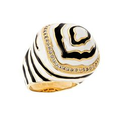 Lauren G. Adams Zebra Ring and other apparel, accessories and trends. Browse and shop 8 related looks.