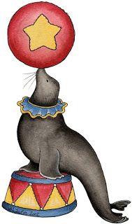 Animales del circo para imprimir - Imagenes y dibujos para imprimir