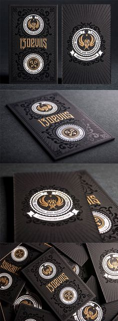 Embossed Business Cards | Business Cards | The Design Inspiration
